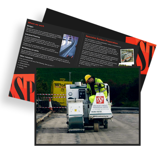 Brochure Image and Worker
